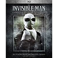 Deals on The Invisible Man: Complete Legacy Collection Blu-ray