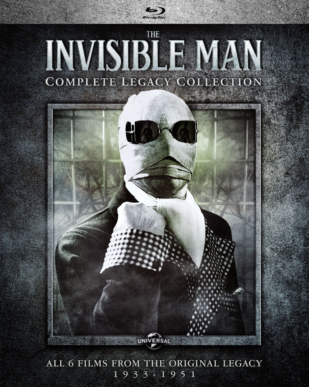 The Invisible Man: Complete Legacy Collection [Blu-ray]