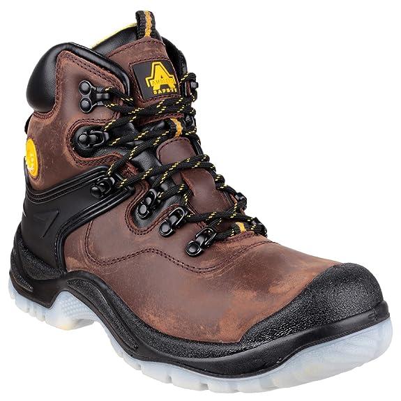 Amblers FS197 Chaussures de sécurité imperméable marron pour hommes 5NKFaT
