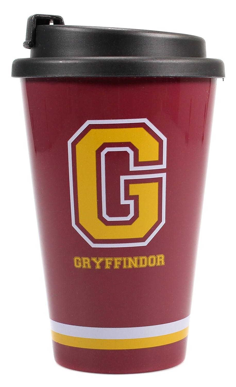 Harry Potter Travel Mug G for Gryffindor Half Moon Calici Tazze Half Moon Bay