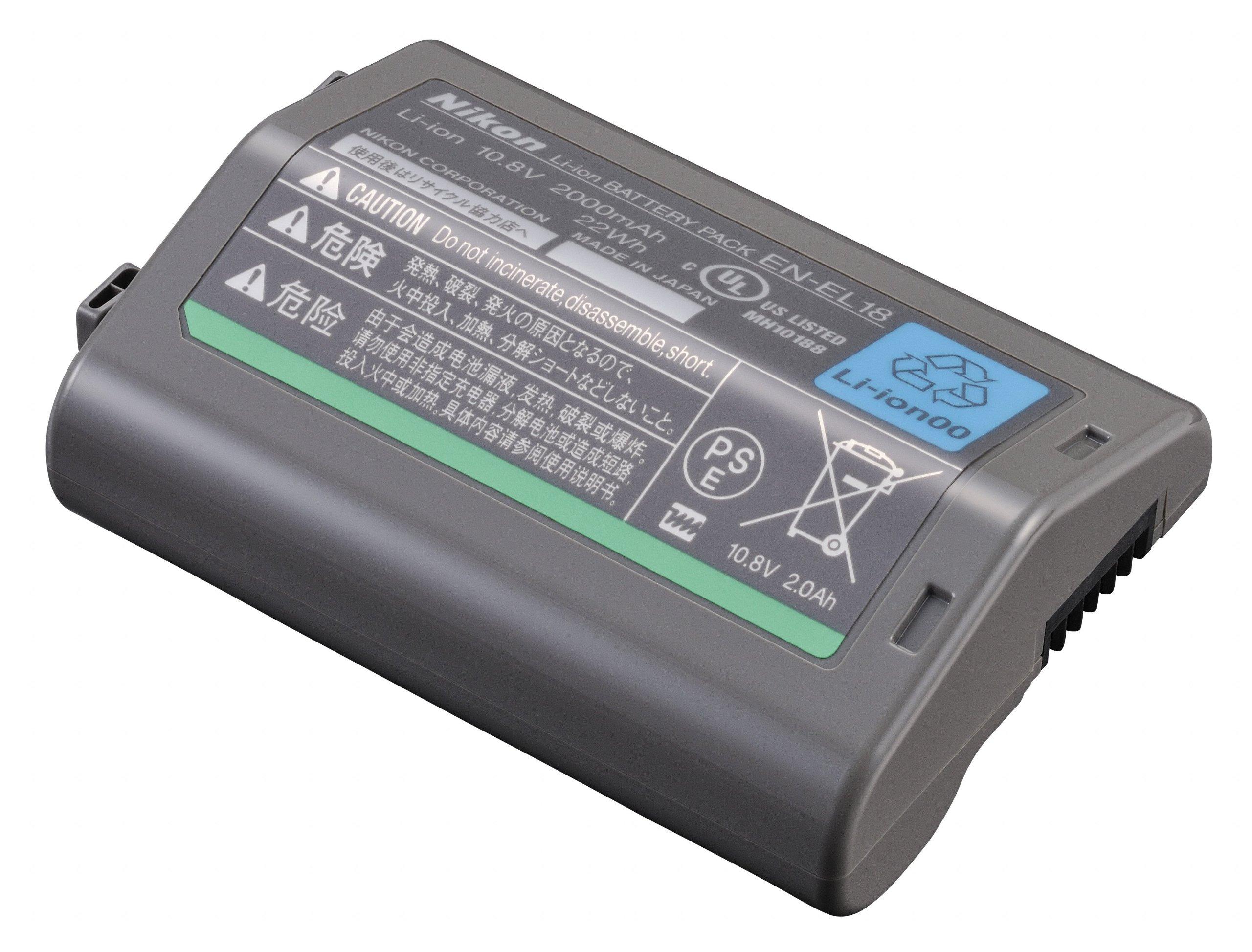 Nikon EN-EL18 Rechargeable Li-ion Battery for D4 Digital SLR by Nikon