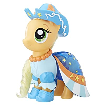 My Little Pony Snap-On Fashion Applejack: Toys & Games