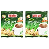 Ginger Drink by Gold Kili, 40 Sachet Total (2 Packs of 20 Sachets)
