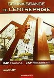 Connaissance de l'entreprise CAP cuisine et restaurant