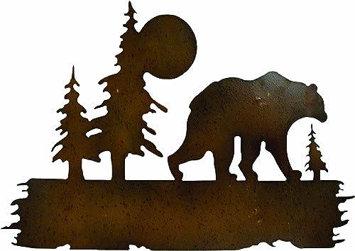 Gardman 8442 Bear Wilderness Wall Art, 16 Long x 25 Wide