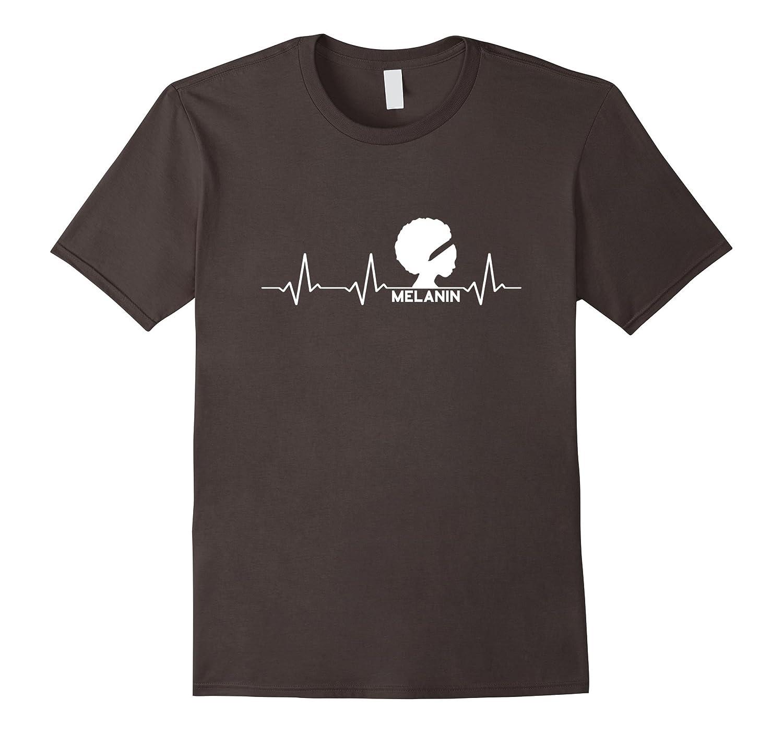 Melanin Heartbeat Black Queen t-shirt-TH