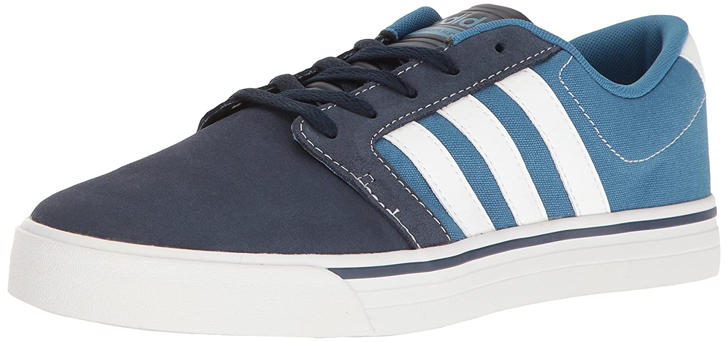 adidas Men's Cloudfoam Super Skate Fashion Sneakers 7 D(M) US|Navy/Footwear White/Blue