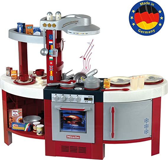 Theo Klein-9155 Miele Cocina Gourmet International Con Numerosos ...