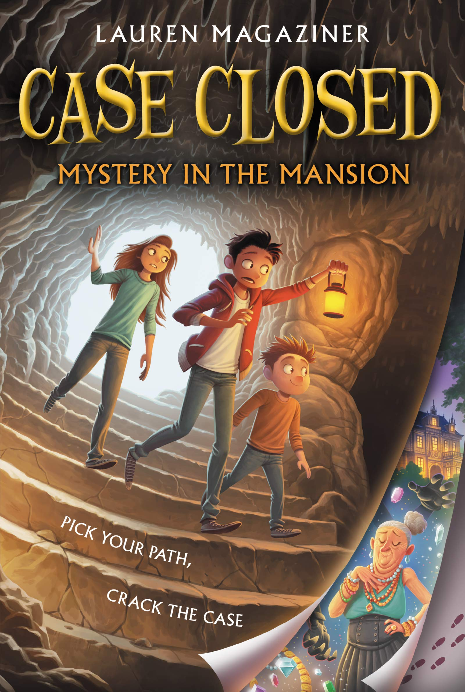 Case Closed #1: Mystery in the Mansion: Magaziner, Lauren: 9780062676283:  Amazon.com: Books