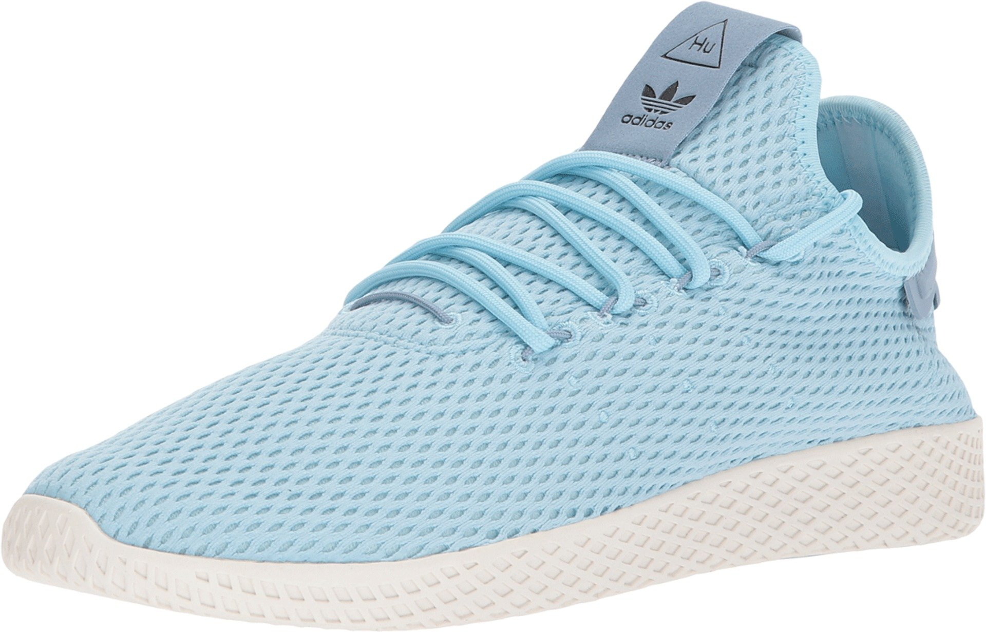 big sale 1a76e da428 adidas Originals Men's Pharrell Williams Human Race Ice Blue/Ice Blue/Blue  4 D US