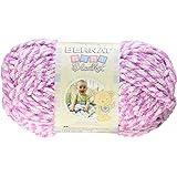 Bernat Baby Blanket Twist Yarn, 3.5 Ounce, Pink Twist, Single Ball