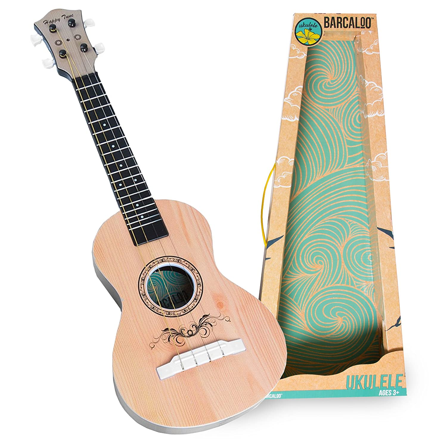Amazon Ukulele Kids Toy with Real Guitar Strings Teaches