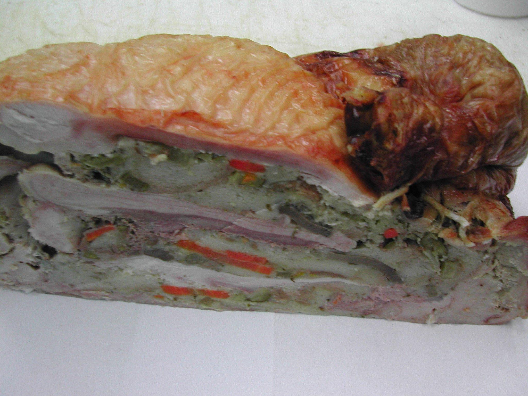 Kosher Organic Cooked Turcaducken