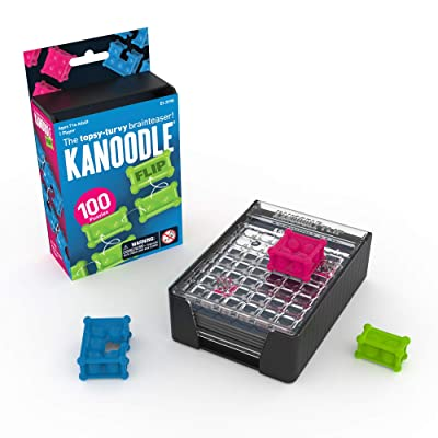 Educational Insights Kanoodle Flip - Puzzle Challenges, Brain Teaser, Logic Game for 7 to Adults: Toys & Games