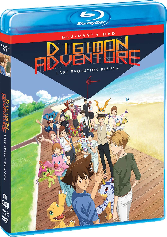 Digimon Adventure: Last Evolution Kizuna Blu-ray + DVD - BD Combo Pack