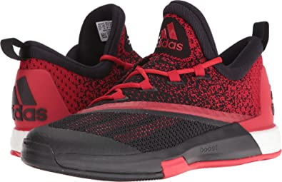adidas Men's SM On Court Crazylight Boost 2 Black/Scarlet/Black 16 ...