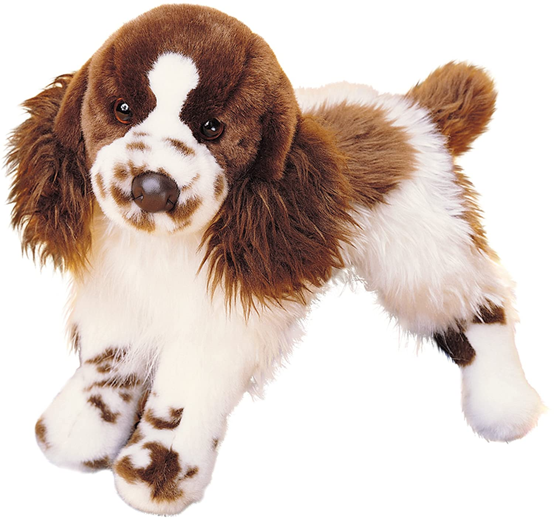 Douglas Cuddle Toys Plush Oglivy Springer Spaniel Stuffed Dog 16 2027