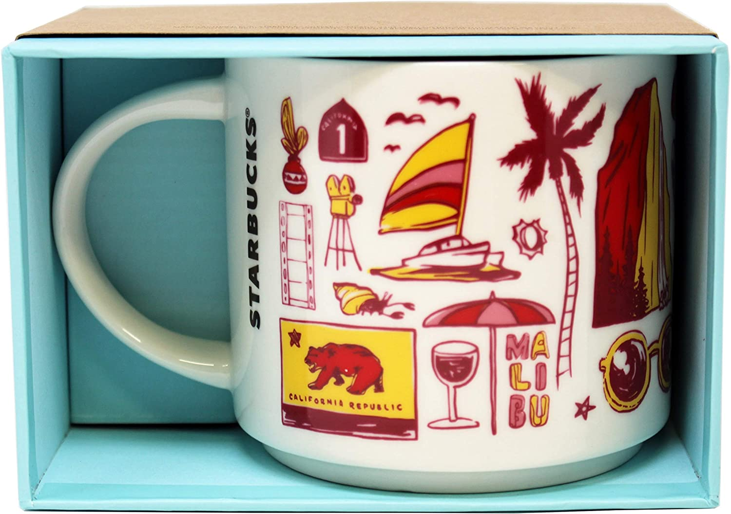 Starbuck Been There Coffee Mug Series - Photo from Amazon