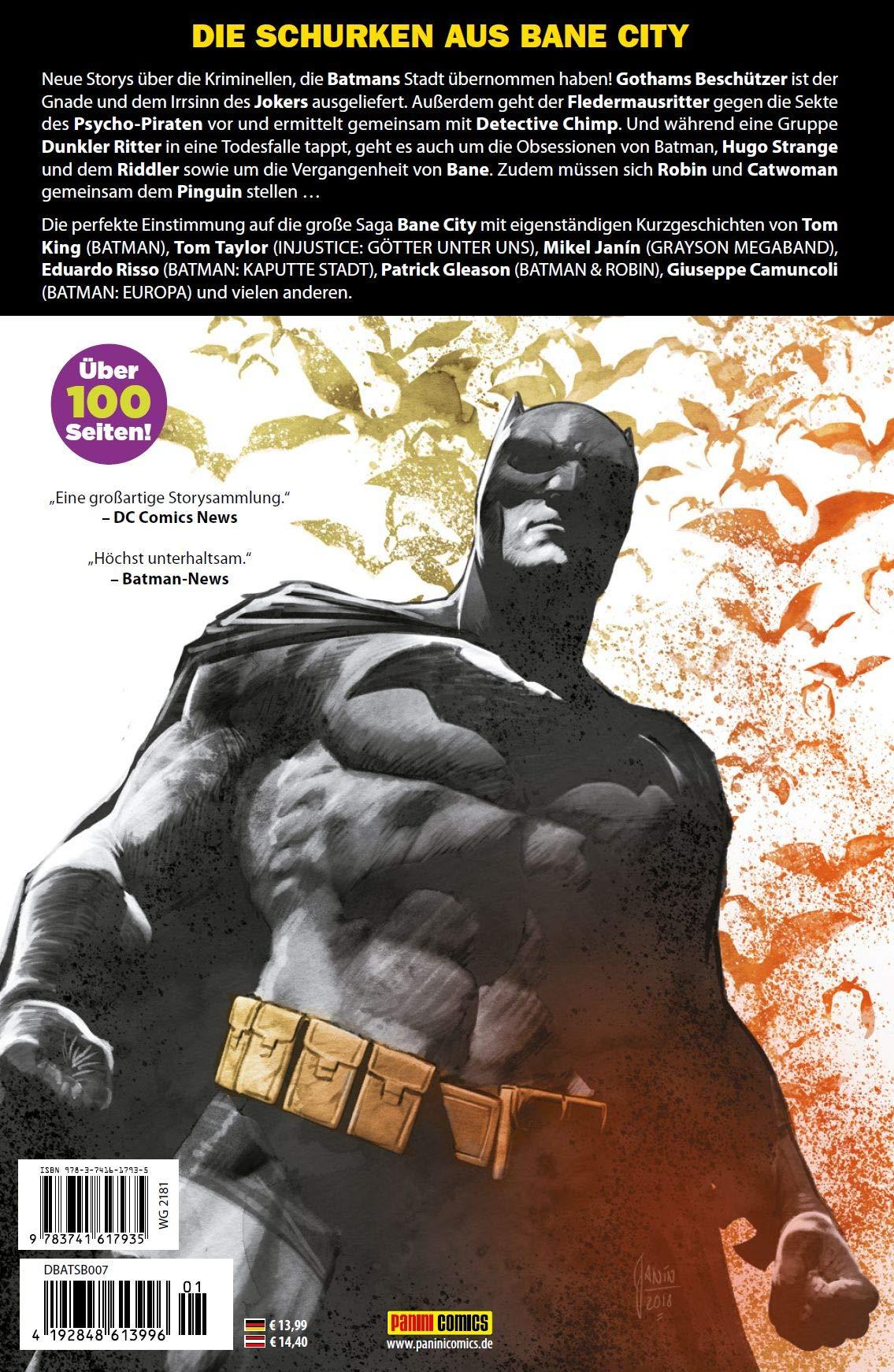 Bane City Batman Sonderband Die geheimen Akten  Panini Comics  2020