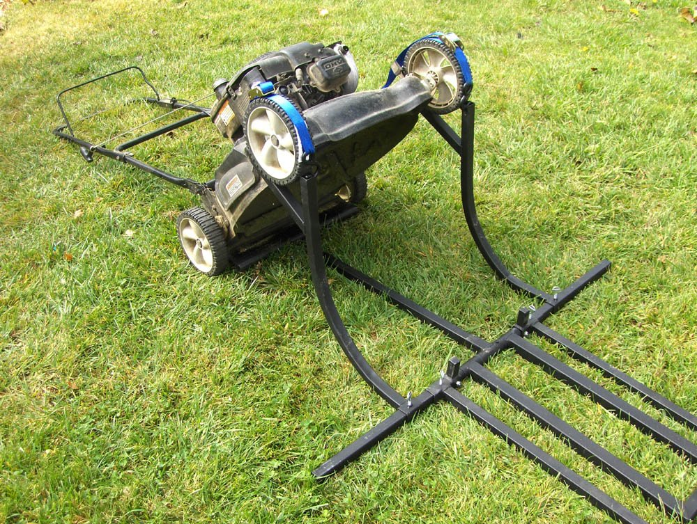 Komodo ATV TML Dual Purpose Lawn Tractor and Mower Lift by BR Tools (Image #5)