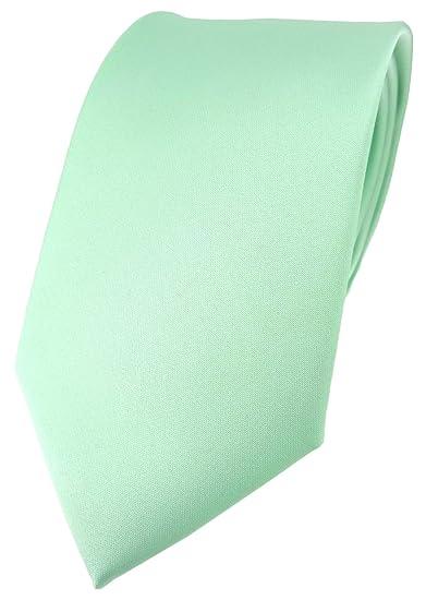 TigerTie - Corbata - Básico - para hombre azul verde menta Talla ...
