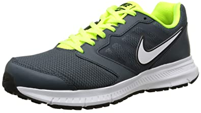 Nike Downshifter 6 Men's Nike Men's Downshifter 6 Running Shoes - Black/White/Grey Size 9