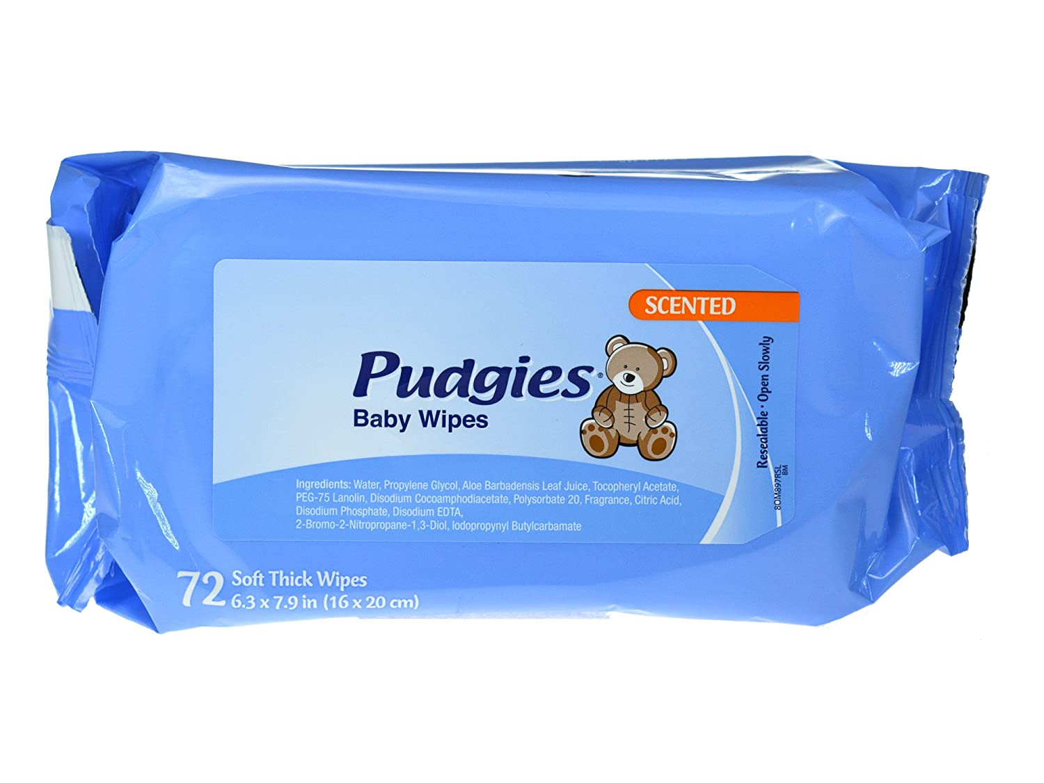 Amazon.com : NICA630FW - Nice-pak Unscented Pudgies Baby Wipes : Industrial Products : Baby