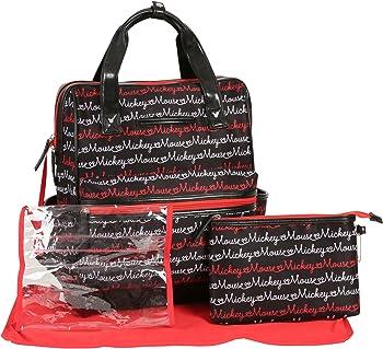 Disney Print Backpack Diaper Bag (Mickey Mouse Script)