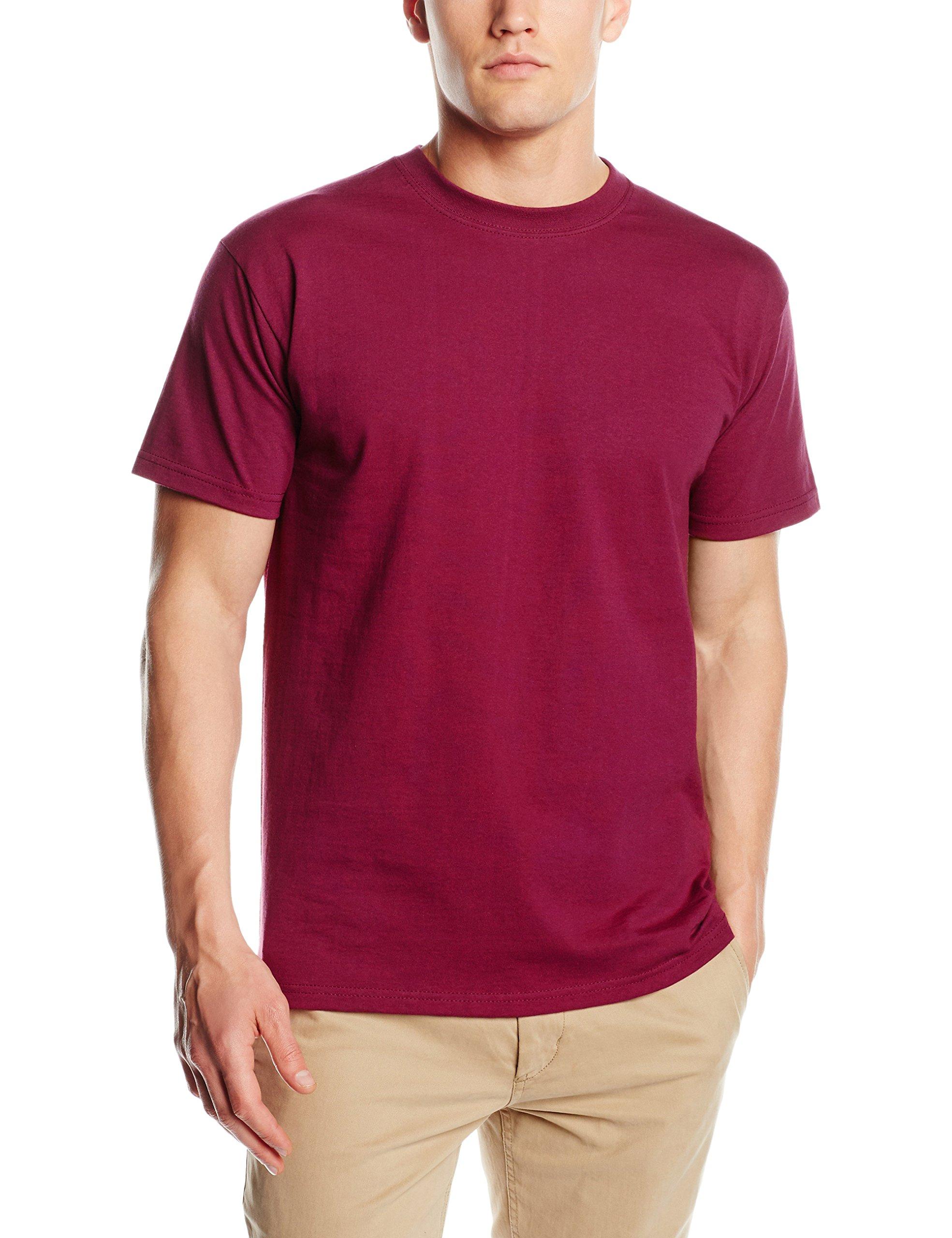 T-Shirt 'Super Premium Tee' - Farbe: Burgundy - Größe: M
