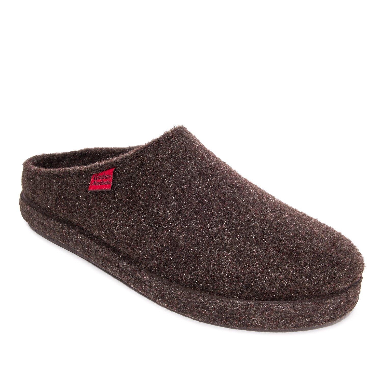 Comodissime Pantofole in Feltro Alpino Marrone.45 -
