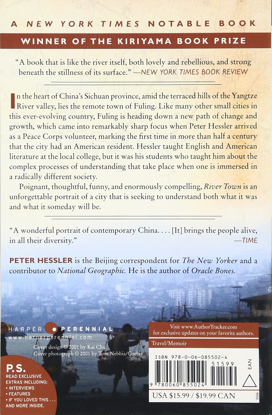 River Town: Two Years On The Yangtze (ps): Peter Hessler: 9780060855024:  Amazon: Books