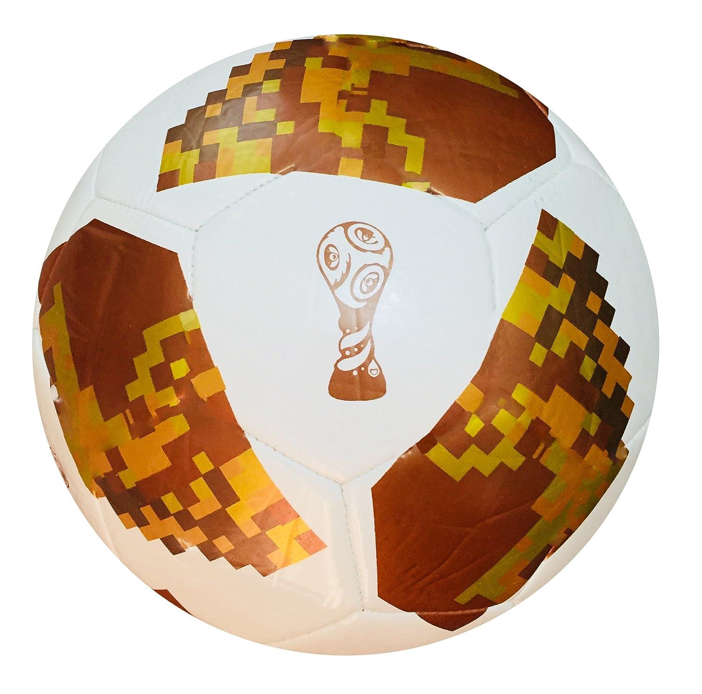 World Cup 2018 - Balón de Fútbol con Réplica Rusa (Tamaño 5,4,3 ...