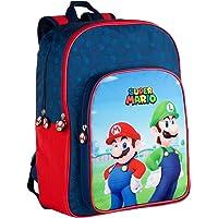 Toybags Bros Mochila Adaptable a Carro Super Mario y Luichi.31 X 42 X 15 CM, Multicolor, Grande (T434-830)