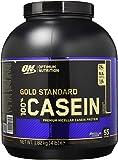 Optimum Nutrition Gold Standard Casein Eiweißpulver (mit Glutamin und Aminosäuren, Protein Shake von ON), Chocolate Supreme, 53 Portionen, 1.82kg