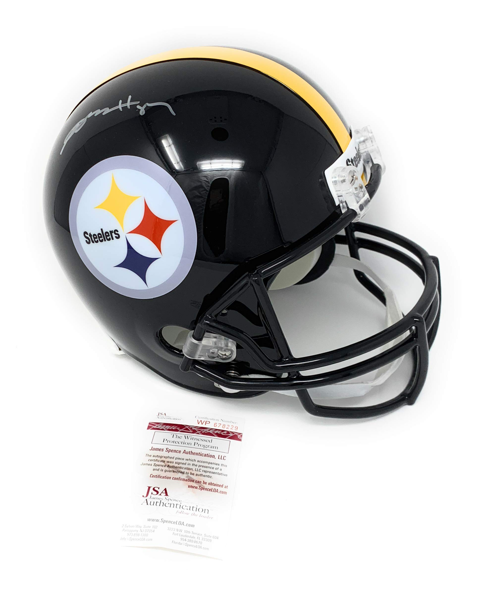 Antonio Brown Pittsburgh Steelers Signed Autograph Full Size Helmet JSA Witnessed Certified