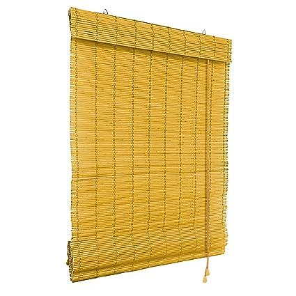 VICTORIA M Tenda a pacchetto in bambù per interni 90 x 220 cm, bambù ...