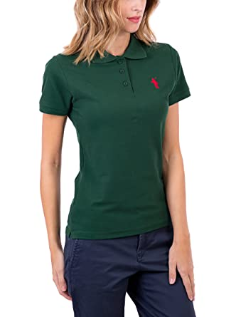 POLO CLUB Polo Original Small Rigby Sra MC Verde Botella XL ...