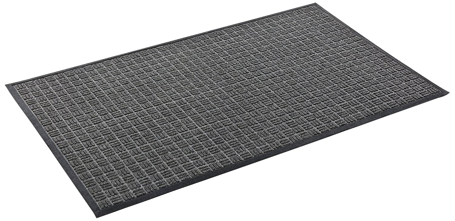 Black 18 -Inch X 30 -Inch Kempf Water Retainer Mat Brown 48x72-Inch