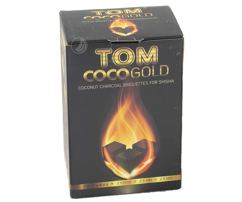 TOM Carbonio Di Noce Di Cocco Cococha Giallo 1kg ACNA-0465
