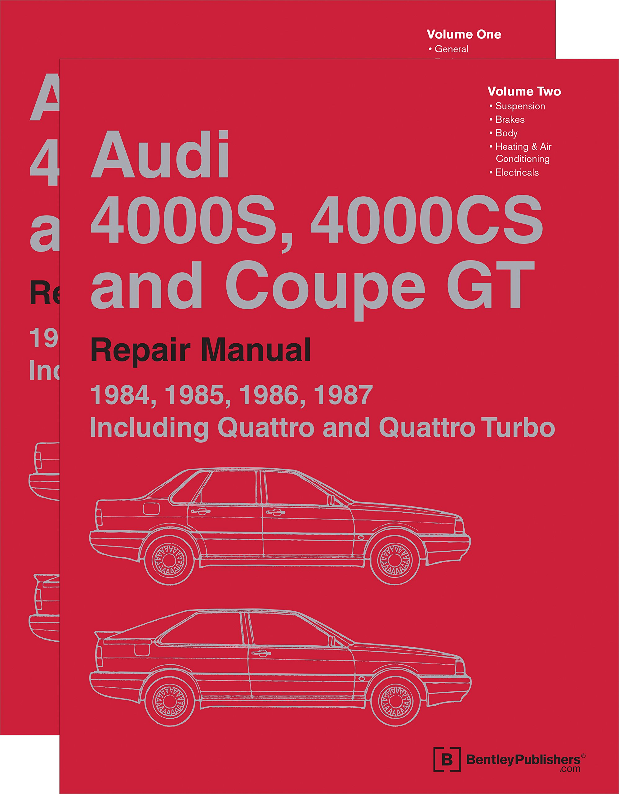 Audi 4000s, 4000cs and Coupe GT B2 Repair Manual: 1984, 1985, 1986, 1987: Including Quattro and Quattro Turbo: Amazon.es: Audi of America: Libros en idiomas ...