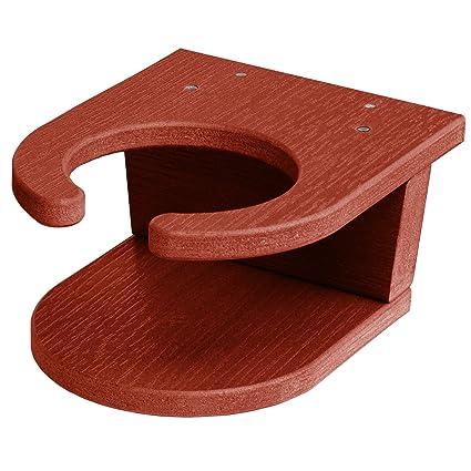 Amazon.com: Soporte para vasos de madera de Highwood, Rojo ...