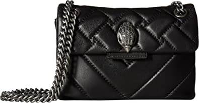 1cde03678ed1 Kurt Geiger London Women's Leather Mini Kensington Crossbody Black One  Size: Handbags: Amazon.com
