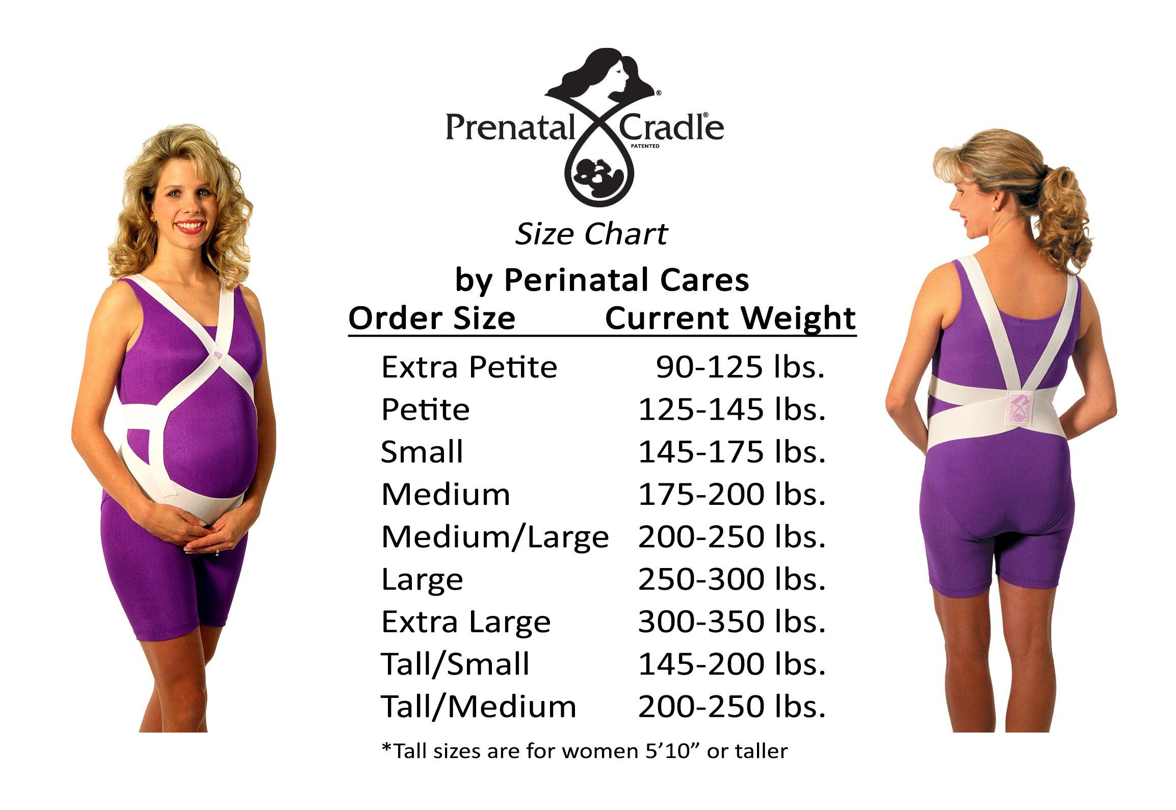 Prenatal Cradle Original, E-Large, White
