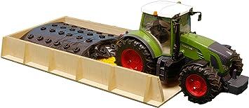 Kids Globe Wooden Slotsilo Scale 1 16 Spielzeug