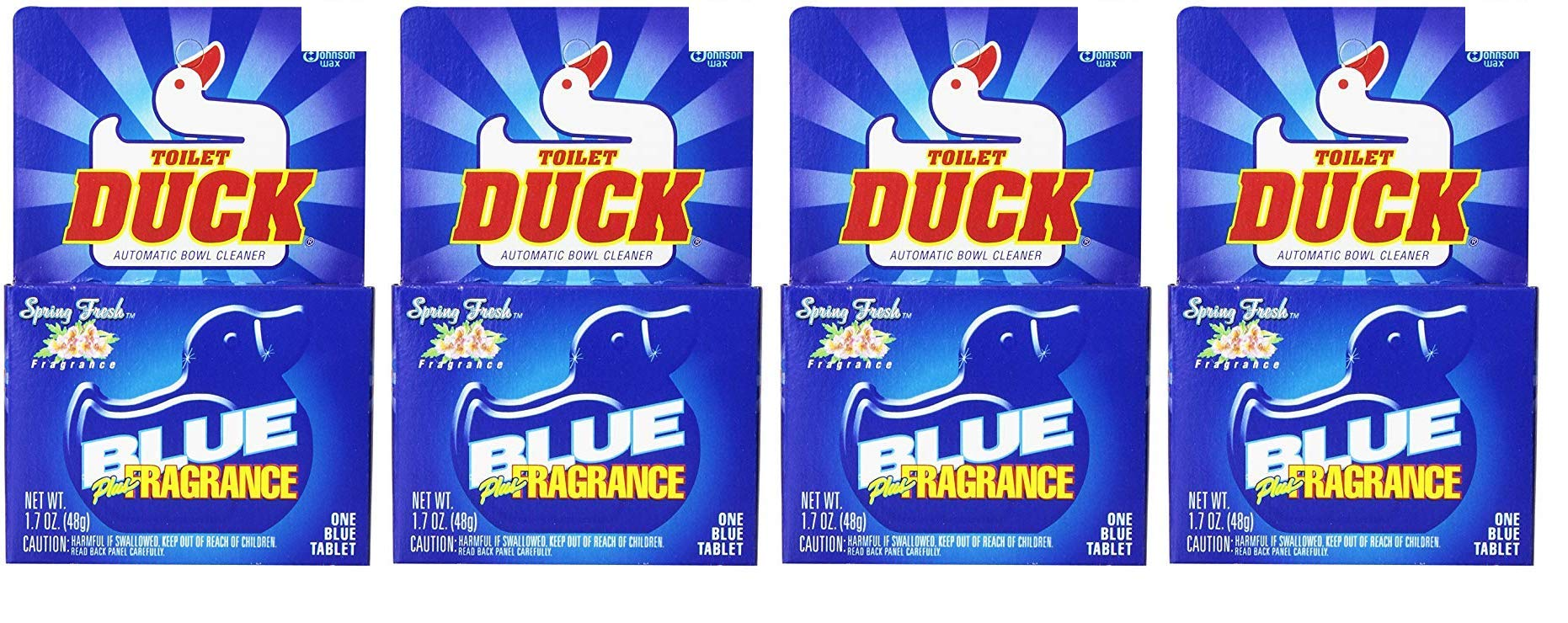 Toilet Duck Automatic Blue Single Tablet, 1.7 oz, (Pack of 12) (Fоur Paсk) by Toilet Duck (Image #1)