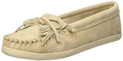 Minnetonka Newport Moc, Mocasines para Mujer: Amazon.es: Zapatos y complementos