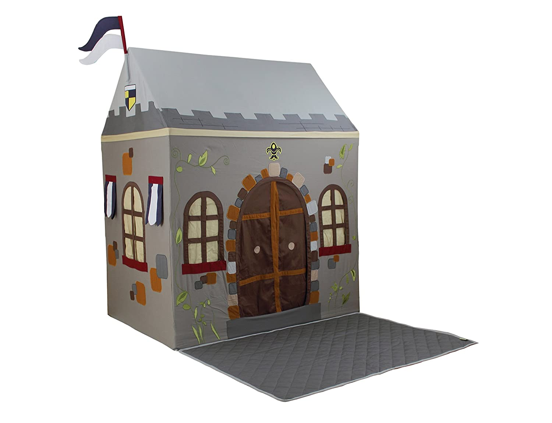 amazoncom dexton toadi castle playhouse and floor quilt small  - amazoncom dexton toadi castle playhouse and floor quilt small toys games