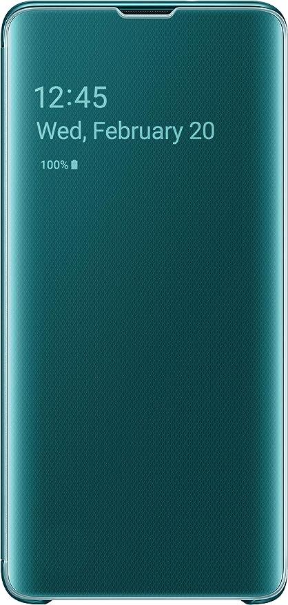 Samsung Clear View Cover Für Galaxy S10 Grün Samsung Elektronik