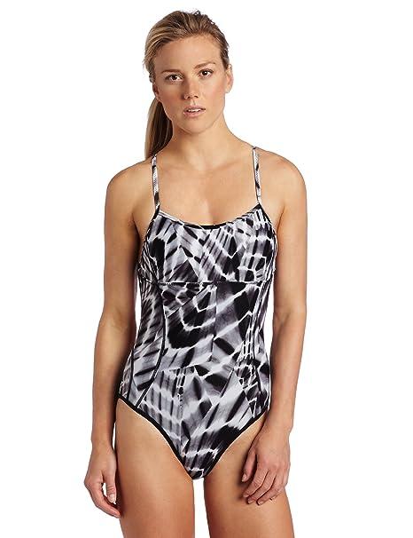 Amazon.com: Speedo Women s Aqua sitios Reversible de una ...