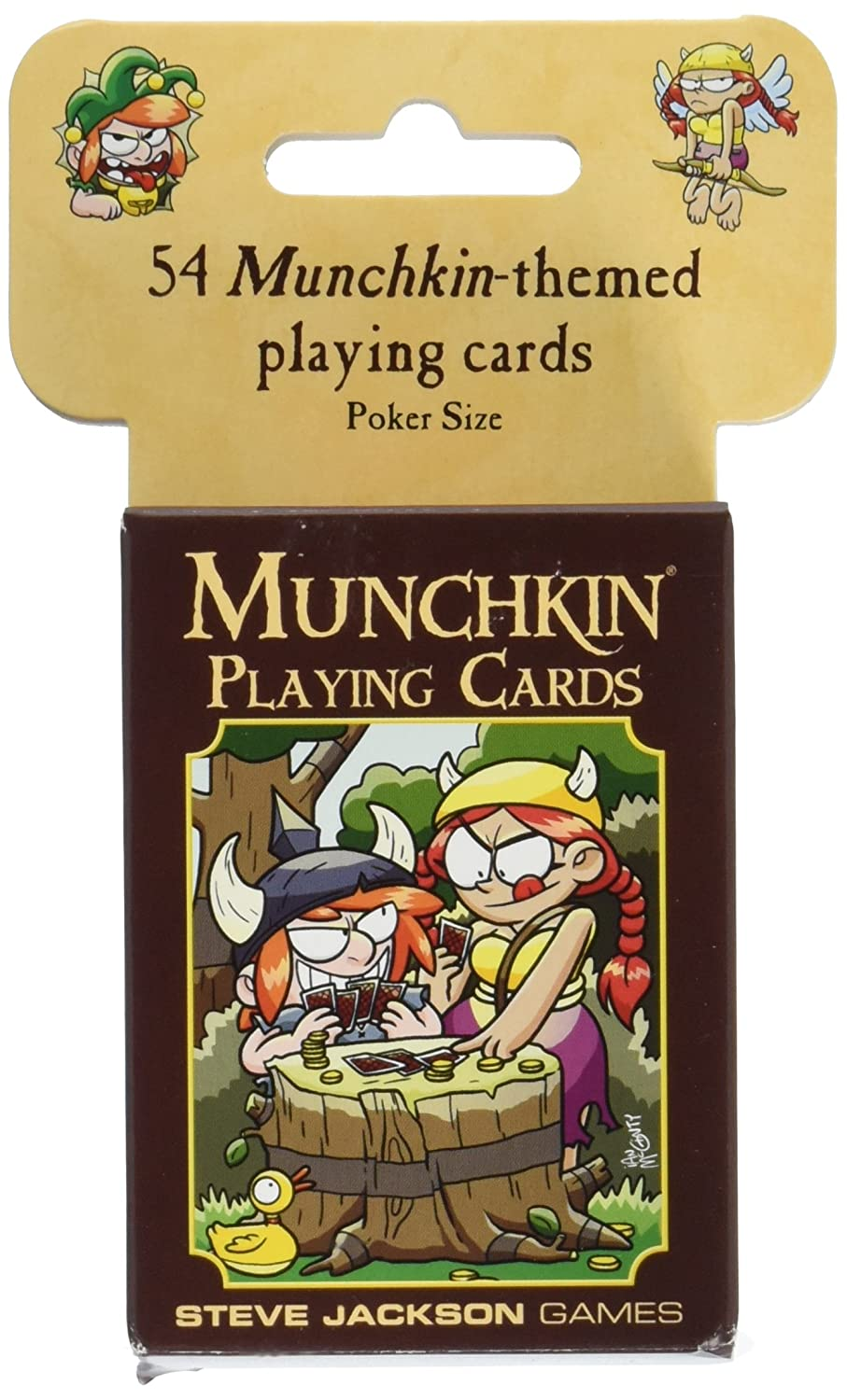 Amazon.com: Munchkin Playing Cards: Toys & Games